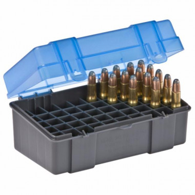 Коробка PLANO 122850 на 50 патронов (.22-250, .250 SAVAGE, 30-30 WIN, .32 WIN)