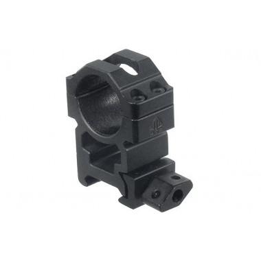 Кольца быстросъемные LEAPERS UTG RG2W1204 25,4 мм на Weaver с винтовым зажимом, 2 винта (высокие)