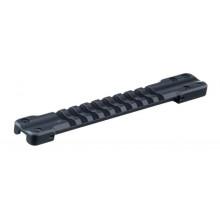 Основание RECKNAGEL 57142-0009 Weaver для установки на вентилируемую планку гладкоствольных ружей (Ширина 9,0-10,1 мм)