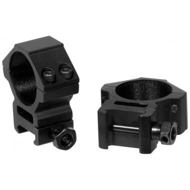 Кольца LEAPERS AccuShot RGWM-30M4 30 мм на Weaver (STM, средние)