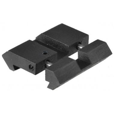 Адаптер-переходник LEAPERS UTG MNT-DT2PW01 ласточкин хвост/Picatinny (высота 4 мм)
