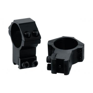 Кольца LEAPERS AccuShot RGPM-30H4 30 мм для на оружие с призмой 10 - 12 мм (STM, высокие)