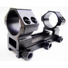 Кронштейн моноблок FUTANG FT-M-A085 с кольцами 25,4 мм на планку Weaver