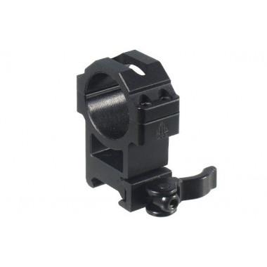 Кольца быстросъемные LEAPERS UTG RQ2W3224 30 мм на Picatinny с рычажным зажимом (высокие)