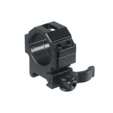 Кольца быстросъемные LEAPERS UTG RQ2W3104 30 мм на Picatinny с рычажным зажимом (низкие)