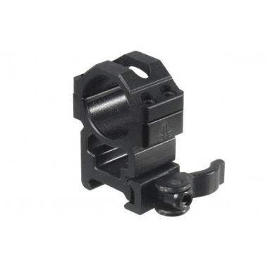 Кольца быстросъемные LEAPERS UTG RQ2W1204 25,4 мм на Picatinny с рычажным зажимом (высокие)