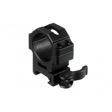 Кольца быстросъемные LEAPERS UTG RQ2W3154 30 мм на Picatinny с рычажным зажимом (средние)