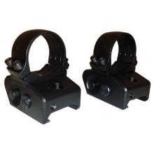 Быстросъемные кольца 25,4 мм с кронштейном INNOMOUNT 51-26-14-00-200 на Weaver/Picatinny