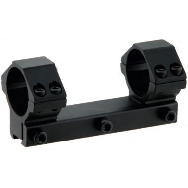 Кронштейн LEAPERS UTG RGPM2PA-25M4 AccuShot с кольцами 25,4 мм на призму 10 - 12 мм (средний)