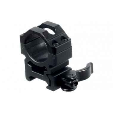 Кольца быстросъемные LEAPERS UTG RQ2W1154 25,4 мм на Picatinny с рычажным зажимом (средние)