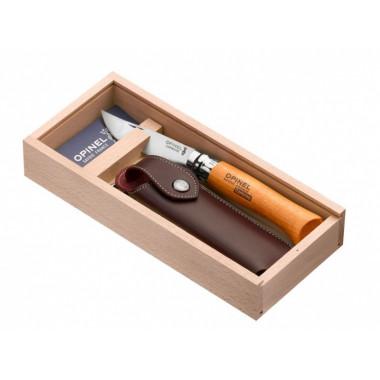 Нож OPINEL virobloc № 8 (углеродистая сталь + чехол)