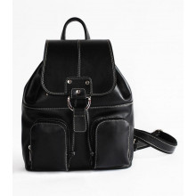 Рюкзак кожаный RHINO 16-04 Black