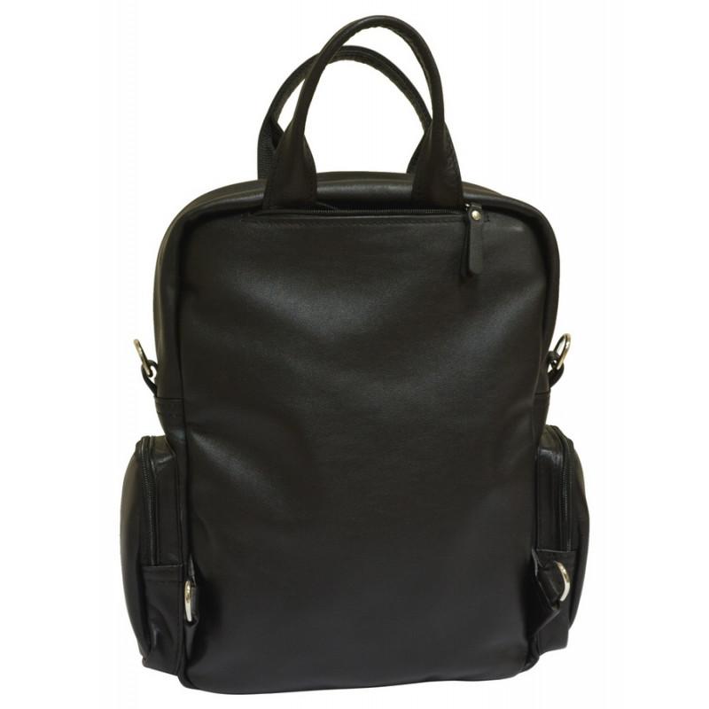 Кожаные мужские сумки через плечо ручной работы 15