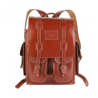 Кожаный рюкзак RELS Comandos Brown