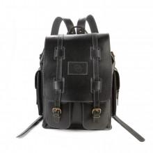 Кожаный рюкзак RELS Comandos Black