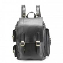 Кожаный рюкзак RELS Defender Black
