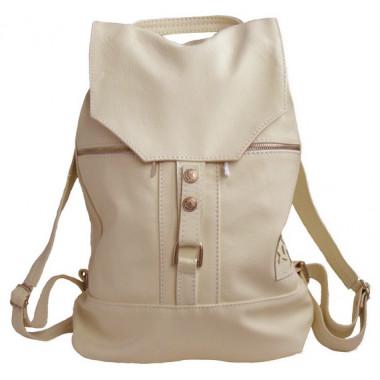 Кожаный рюкзак SofiTone RM 002 Слоновая кость