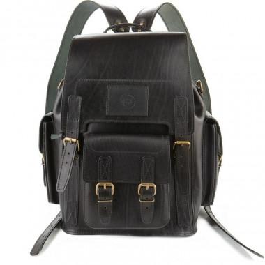 Кожаный рюкзак RELS Camel Black