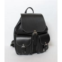 Рюкзак кожаный RHINO 16-01 Black