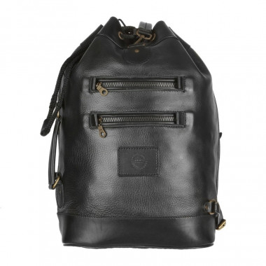 Кожаный рюкзак RELS Striker Black
