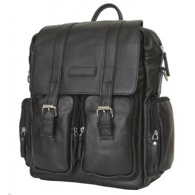 Рюкзак кожаный CARLO GATTINI Classico Fiorentino black