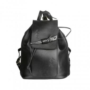 Кожаный рюкзак RELS Geisha Black Flotter