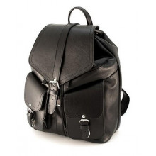 Рюкзак кожаный RHINO 16-02 Black