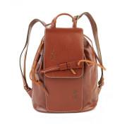 Кожаный рюкзак RELS Geisha Brown