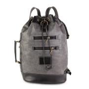 Кожаный рюкзак RELS Striker Gray