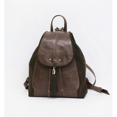 Рюкзак кожаный RHINO 16-09