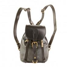 Кожаный рюкзак RELS Colibri Black