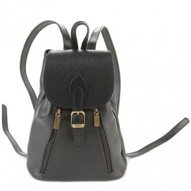Кожаный рюкзак RELS Joly Black