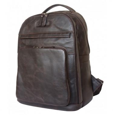 Рюкзак кожаный Carlo Gattini Sinfonica Montegrotto brown