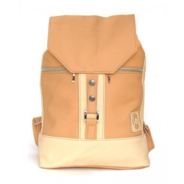 Кожаный рюкзак SofiTone RM 002 Кремовый - Слоновая кость