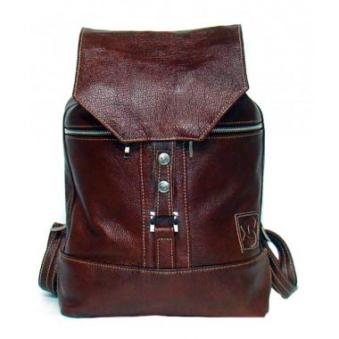 Кожаный рюкзак SofiTone RM 002 Тёмно-коричневый