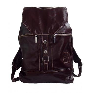 Кожаный рюкзак SofiTone RM002 Вишнёвый