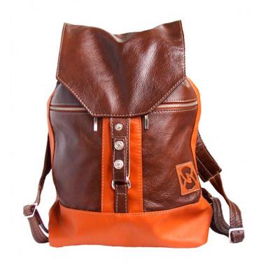 Кожаный рюкзак SofiTone RM002 Коричневый - Терракот