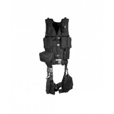 Разгрузочный жилет тактический Leapers UTG PVC-V747KT (10 предметов, чёрный)